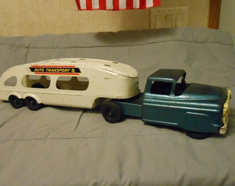 1950's Complete Marx Car Carrier
