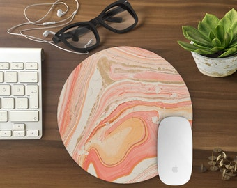 Mouse Pad, Marble Mousepad, Mouse Mat Marble print Mouse Pad Office Mousemat Rectangular Mousemat Mousepad marble design mouse pad - T80291