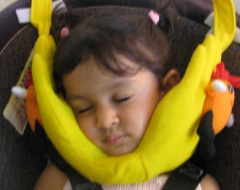 Head Support for Kids /Travel Pillow for carseat, stroller, airplane etc
