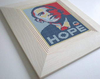 Obama Cross Stitch Pattern