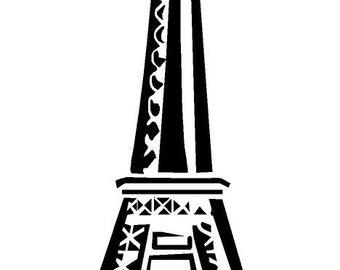 Eiffel Tower V.1 vinyl decal/sticker
