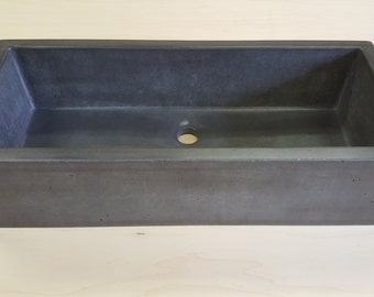 Rectangle Vessel Sink (The Skinny)