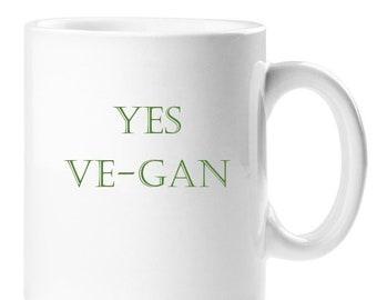Yes Ve-Gan Mug