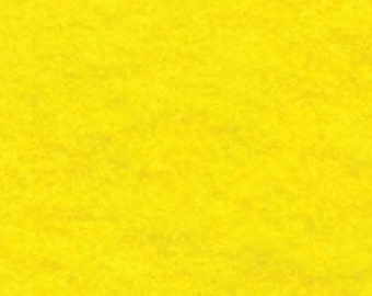 "18"" x 24"" Yellow Acrylic Felt FQ - equal to 4 Sheets Felt"