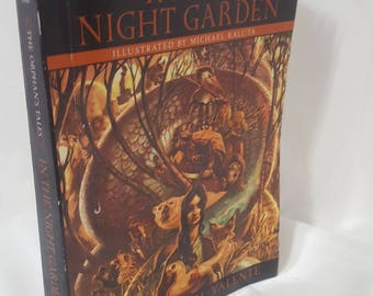 ON SALE, In The Night Garden, The Orphans Tale, Catherynne Valente, Fantasy Book, Science Fiction, Sci Fi Literature, Vintage Book, Adult