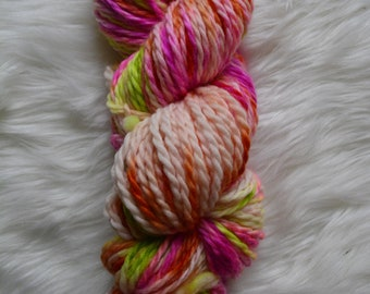 Fruit Candy-Bulky Weight Yarn, Hand Dyed Yarn( 100 percent Superwash Merino Wool)
