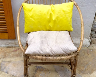 Vintage 1960's Garden rattan chair