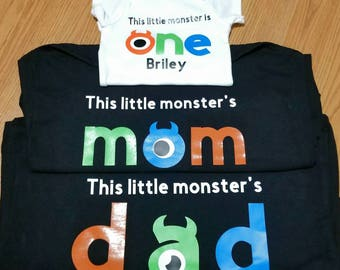 Birthday Monster Shirts