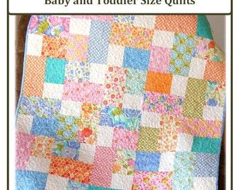 PDF Quilt Pattern Sweet as Honey Layer Cake Friendly Carlene Westberg Designs