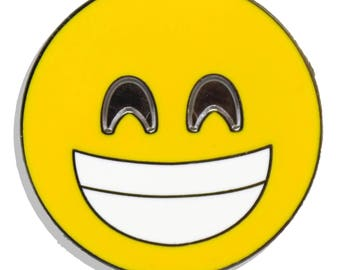 Emoji Teeth Hard Enamel Pin