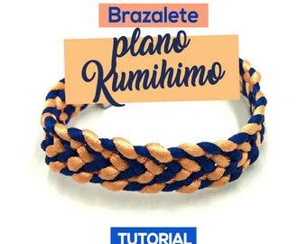 DIY Brazalete Plano Kumihimo Ebook PDF con Video Tutorial