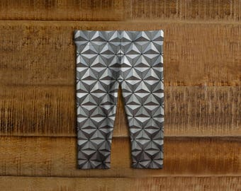 Epcot Spaceship Earth Inspired Baby Leggings