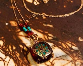 Handmade Gilding necklace