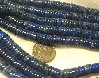 Lapis, Deep blue and gorgeous Rondelle
