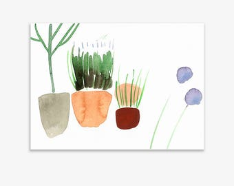 Unrecognisable Parts Of Our Garden 20, print on fine art paper