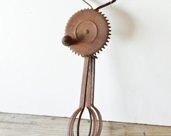 Vintage / Antique Mechanical Whisk / Mixer