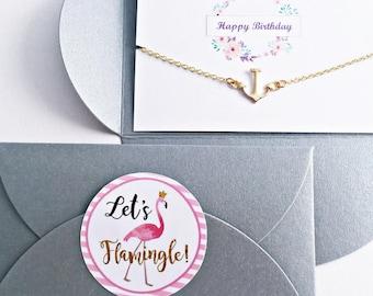 4x Birthday Gift // Congratulations Card // Bracelet