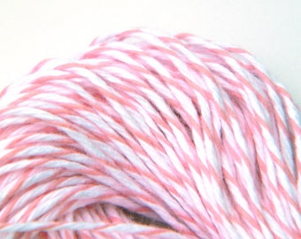 Baker's Twine Pink, 25 yards or 75 feet, Cotton Candy Divine