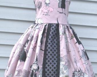 Made to Order Custom Boutique Ghastlies Girl Dress Sizes 2 3 4 5 6 7 or 8 Ghastlie