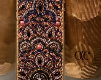 Moroccan iPhone 6 Plus -  Handmade - Swarovski Phone Case - Smartphone Case - Luxury Phone Case