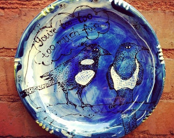 Magpie Plate