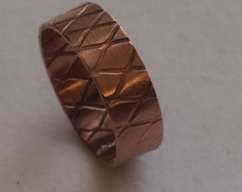 Copper textured Band
