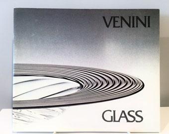 Venini Glass Exhibition Catalog 1981