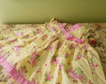 Sweet Floral Baby Dress