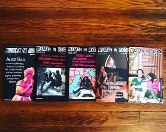 Women in Rock Magazine Issues 001-005 Set