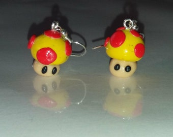 Soundtrack, MARIO yellow mushrooms with polymer clay