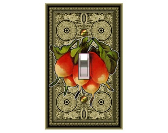 0624A - Radishes - mrs butler switch plate covers - - mix/match with 0624B