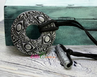 Silver and black dread tie/Dreadlock Hair Tie/Dreadlocks Elastic/Hair Tie