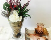 Faux Succulent Terrarium ...