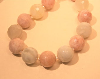 Moonstone and Sunstone Necklace