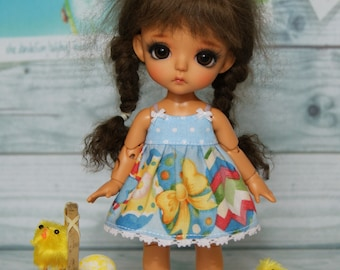 Lati yellow/pukifee sets (sundress+ bloomers+socks)