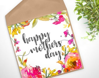 GC-151 PRINTABLE Greeting Card - digital file - DOWNLOAD - Mothers Day, blessings, Christian