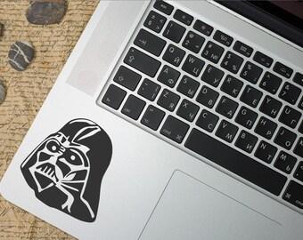 Darth Vader Decal, Darth Vader Sticker, Star wars, Star wars Decal, Darth Vader Macbook Decal, Macbook Sticker, Star wars