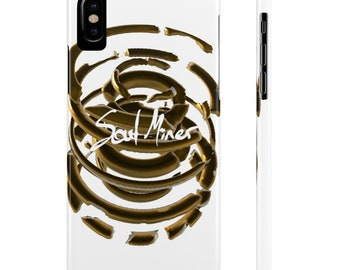 Broken Brass Circles Slim Phone Cases By Case Mate