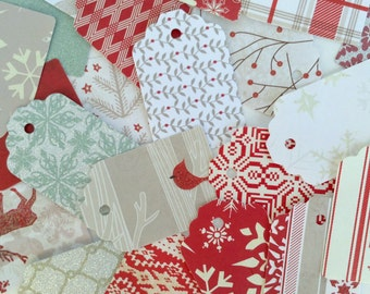 20 Git Tags- Christmas Gift Tags- Assorted Gift Tags- Item T1002