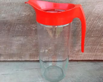 Anchor Hocking Glass Pitcher, Inv.# 649