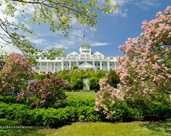 Grand Hotel Lilacs - Michigan Photography