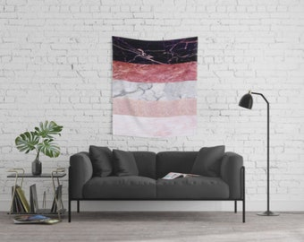 Rose Marble Tapestry