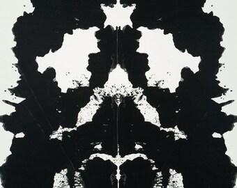 Andy Warhol Rorschach, 1984