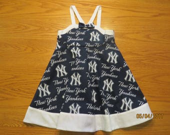 Little girl's MLB NY Yankees sundress (size 3)