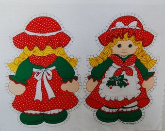Vintage Springs Mills Holly Doll Sew and Stuff