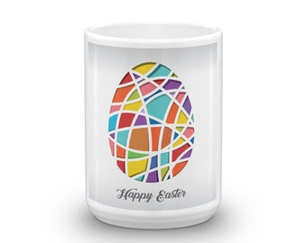 Easter Egg on a white Mug