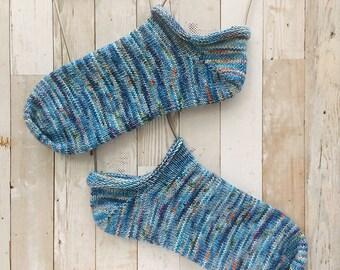 hey shortie | knitting sock pattern