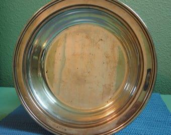 Vintage Silver Plate Serving Bowl, Vintage Silver Bowl, Vintage Silver Serving Bowl, Vintage Silver