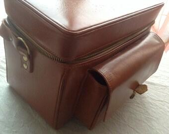 Original Rolleiflex equipment bag leather