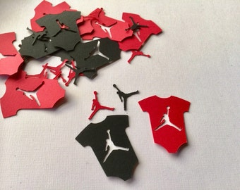 Jumpman Inspired Onesie Confetti; Jordan